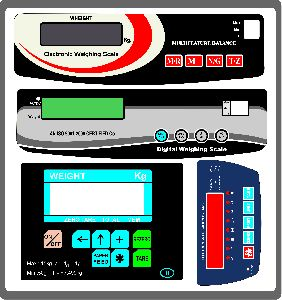 Weighing Machine Stickers Printing