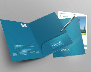 Folder Designing and Printing Services