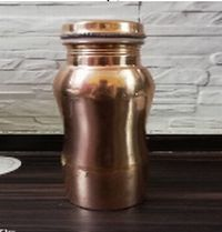 Copper Curved Bottle