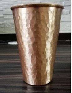Copper Slim Hammer Tumbler