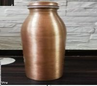 Copper Slim Milk Bottle