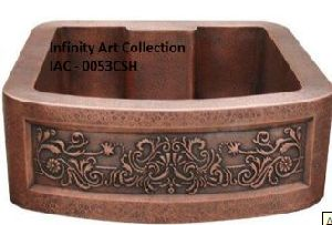 Double Wall Designer Copper Sink