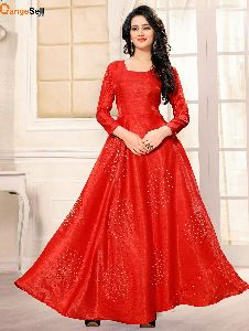 Bollywood Style Red Gown