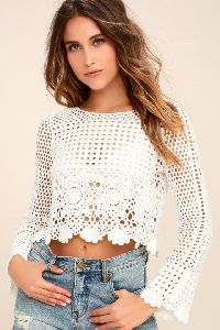 Ladies Crochet Tops