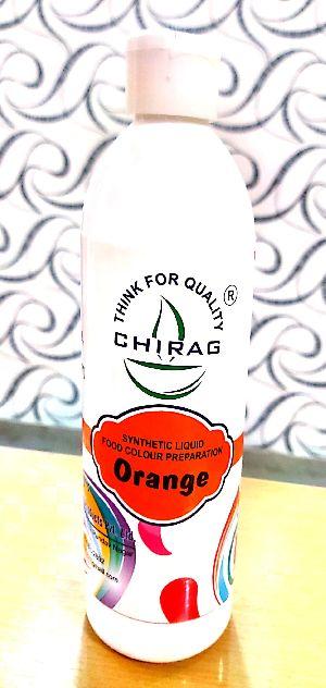 Orange Liquid Food Color
