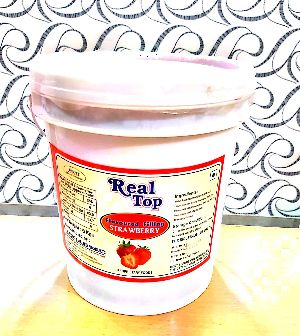 Real Top  Strawberry Flavoured Filling