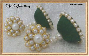 Enamel Jhumka Earrings