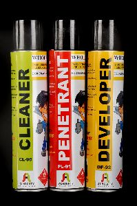 Cleaner Penetrant Developer Set