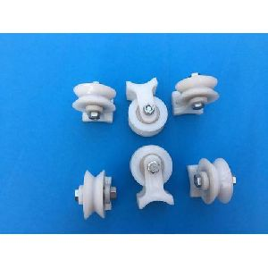 White Pulley Wheel