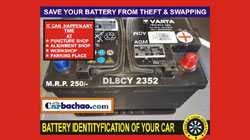 Car Battery ID Service