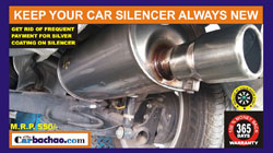 Car Silencer Coating Service