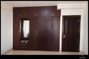 Wooden Wardrobe Designing Work