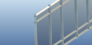 conventional curtain wall system