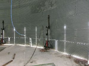 Grain Silo jacking systems