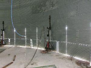 Grain Silo jacking systems