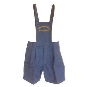 Uniform Half Pant With Suspender