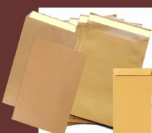 Brown Peel and Seal Envelope