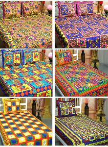 Cotton Handmade Bed Sheet