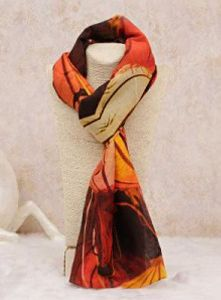 Printed Silk Stoles