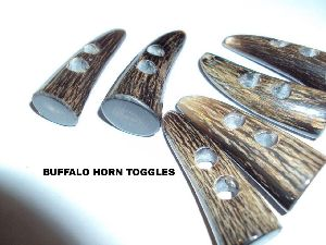Buffalo Horn Toggles