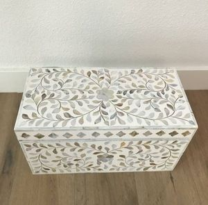 Mother of Pearl Jewellery Boxes