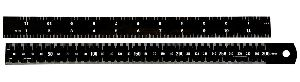 Black Chrome Ruler