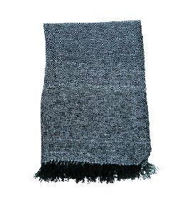 Black & Blue Grey Pashmina Stole
