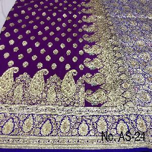 Nylon Ambrose Embroidered Sarees