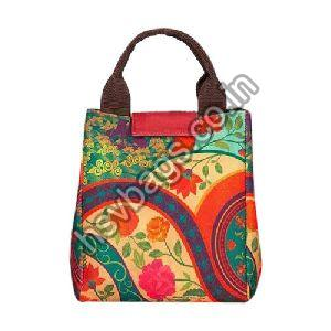 Embroidered Cotton Handbag