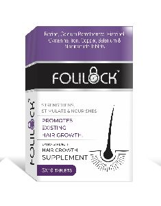 Folilock Hair Growth Tablets