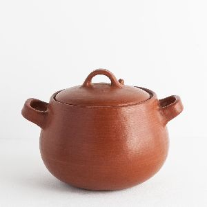 1000gm Clay Cooking Pot