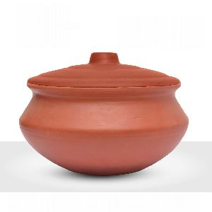 2200gm Clay Biryani Pot
