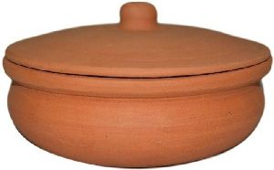 400gm Clay Biryani Pot