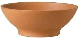 Clay Bowl Planter