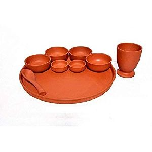 Clay Thali Set