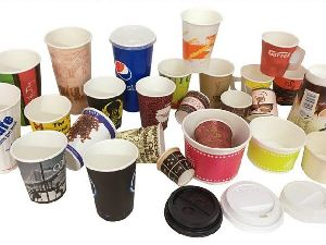 Colored Disposable Paper Cups