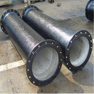 CI Double Flanged Pipes
