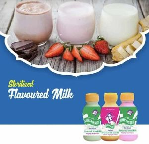 Sterilized Flavoured Milk