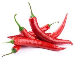 Fresh Red Chillies