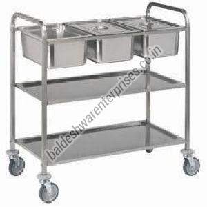 Food Serving Trolley