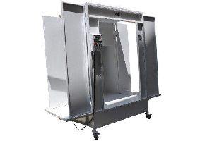 Conveyorised Powder Coating Booth