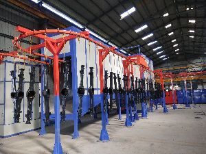 Powder Liquid Coating Plant