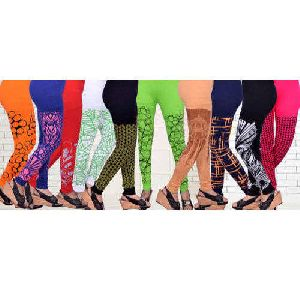 Cotton Lycra Printed Leggings