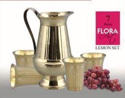 Brass Flora Lemon Set
