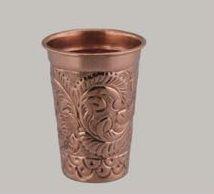 Embossed Vivo Copper Glass