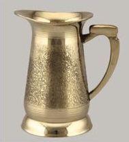 Etching Brass Jug