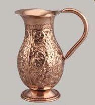 Mughlai Copper Jug