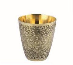 Nakshatra Brass Glass