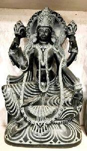 Black Stone Kali Mata Statue