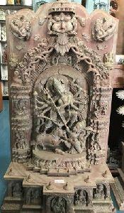 Durga Stone Statue